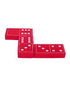 Foam Dominoes: Red