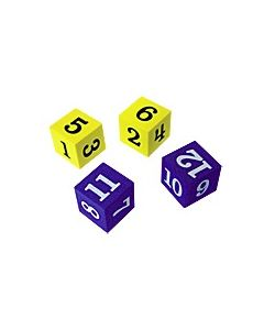 Foam Numbered Dice