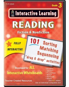 Interactive Learning: Reading Fiction & Nonfiction (Gr. 3)