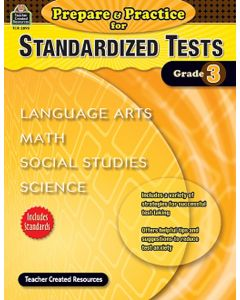 Prepare & Practice for Standardized Tests (Gr. 3)