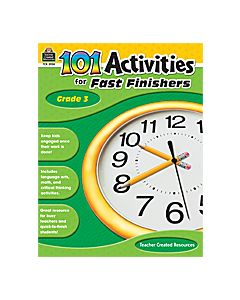 101 Activities for Fast Finishers (Gr. 3)