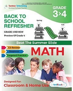 Back to School Refresher tedBook - Grade 3>4 Math, Teacher Copy