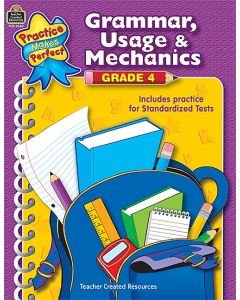 Grammar, Usage & Mechanics (Gr. 4)