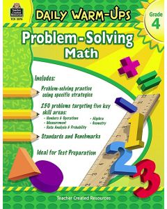 Daily Warm-Ups: Problem-Solving Math (Gr. 4)