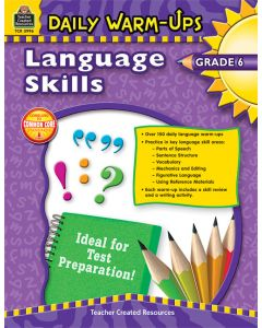 Daily Warm Ups: Language Skills (Gr. 6)