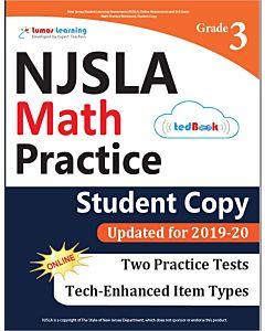 NJSLA Practice tedBook® - Grade 3 Math, Student Copy