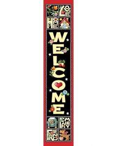 Love, Home, Family, Friend Banner from Mary Engelbreit