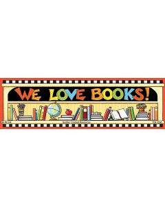 We Love Books Bookmarks from Mary Engelbreit