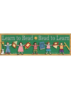 Learn to Read/Read to Learn Bookmarks from Susan Winget