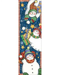 Snowmen Bookmarks from Susan Winget