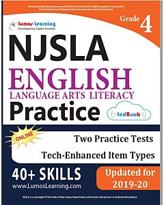 NJSLA Practice tedBook® - Grade 4 ELA, Teacher Copy