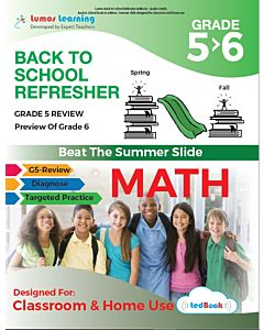 Back to School Refresher tedBook - Grade 5>6 Math, Teacher Copy