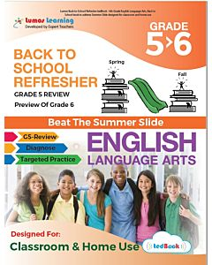 Back to School Refresher tedBook - Grade 5>6 ELA, Teacher Copy