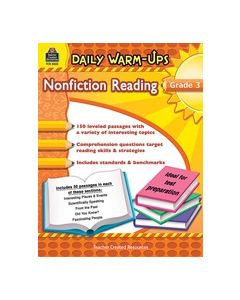 Daily Warm-Ups: Nonfiction Reading (Gr. 3)