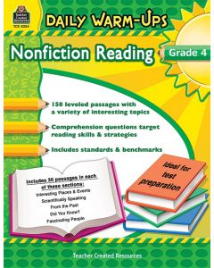 Daily Warm-Ups: Nonfiction Reading (Gr. 4)