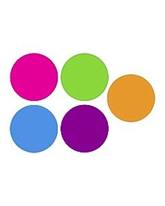 Bright Colors Circles Accents