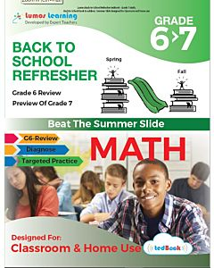 Back to School Refresher tedBook - Grade 6>7 Math, Teacher Copy