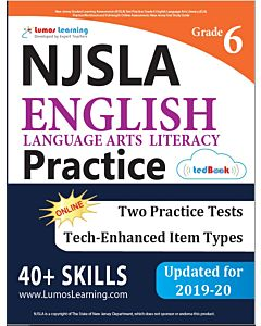 NJSLA Practice tedBook® - Grade 6 ELA, Teacher Copy