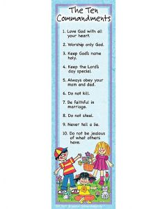 Ten Commandments Bookmarks