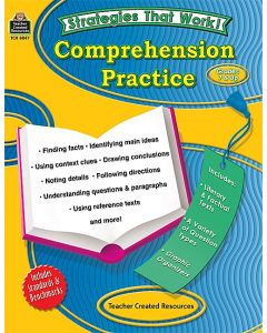 Strategies that Work: Comprehension Practice Grades 7-8