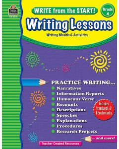 Write from the Start! Writing Lessons (Gr. 4)