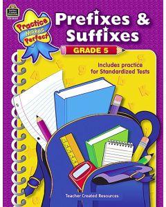 Prefixes & Suffixes (Gr. 5)