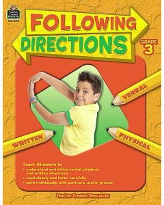Following Directions Grade 3