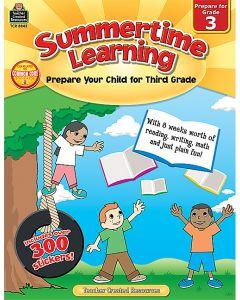 Summertime Learning Grade 3