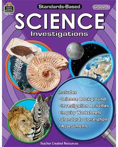 Standards-Based Science Investigations (Gr. 6)
