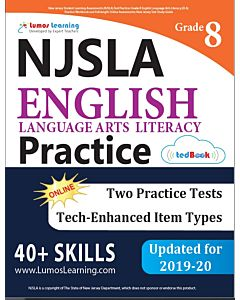 NJSLA Practice tedBook® - Grade 8 ELA, Teacher Copy