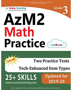 AZM2 Practice tedBook® - Grade 3 Math, Teacher Copy