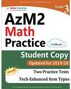 AzM2 Practice tedBook® - Grade 3 Math, Student Copy
