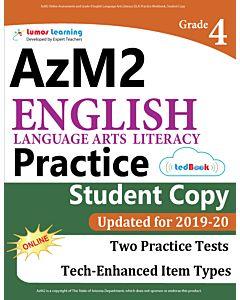 AzM2 Practice tedBook® - Grade 4 ELA, Student Copy