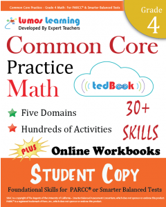 Common Core Practice tedBook® - Grade 4 Math, Student Copy