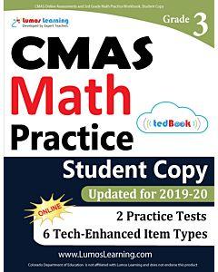 CMAS Practice tedBook® - Grade 3 Math, Student Copy