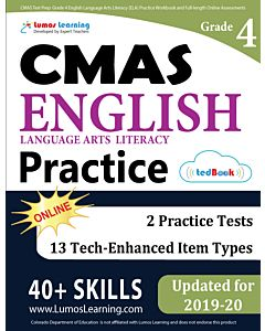 CMAS Practice tedBook® - Grade 4 ELA, Teacher Copy