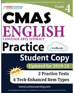 CMAS Practice tedBook® - Grade 4 ELA, Student Copy