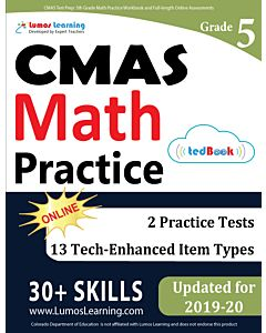 CMAS Practice tedBook® - Grade 5 Math, Teacher Copy