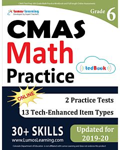CMAS Practice tedBook® - Grade 6 Math, Teacher Copy