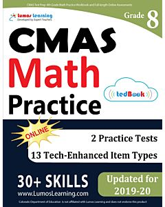 CMAS Practice tedBook® - Grade 8 Math, Teacher Copy