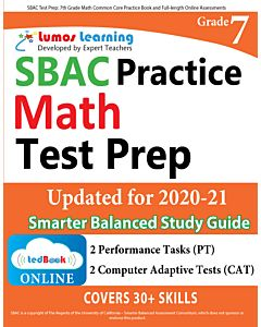 SBAC Practice tedBook® - Grade 7 Math, Teacher Copy