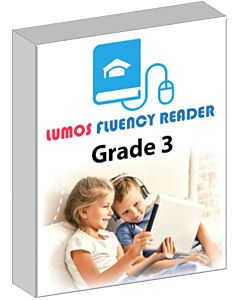 Lumos Fluent Reader - Grade 3 - Comprehensive Online Reading Skills Practice Program