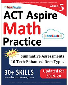 ACT Aspire Practice tedBook® - Grade 5 Math, Teacher Copy