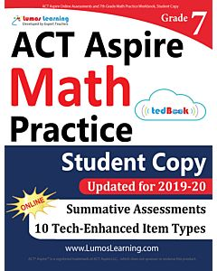 ACT Aspire Practice tedBook® - Grade 7 Math, Student Copy