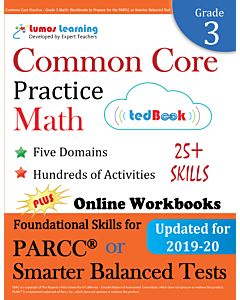 Common Core Practice tedBook® - Grade 3 Math, Teacher Copy