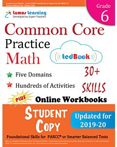 Common Core Practice tedBook® - Grade 6 Math, Student Copy