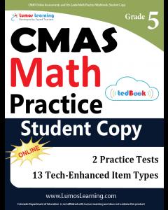 CMAS Practice tedBook® - Grade 5 Math, Student Copy