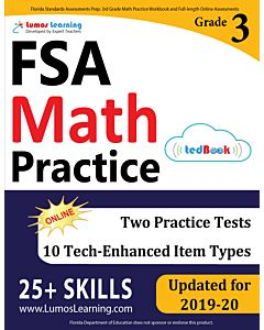 FSA Practice tedBook® - Grade 3 Math, Student Copy