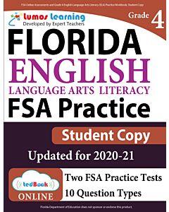 FSA Practice tedBook® - Grade 4 ELA, Student Copy