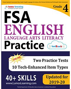 FSA Practice tedBook® - Grade 4 ELA, Teacher Copy